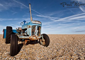 Cley Beach Tractor