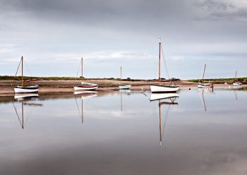 Mirror Image Burnham Overy Staithe