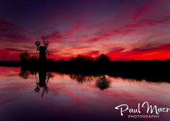 Turf Fen Sunset