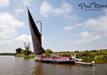 Norfolk Wherry Albion How Hill