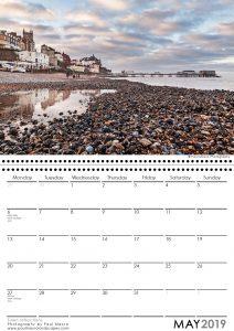 cromer pier 2019 a3 calendar paul macro photography