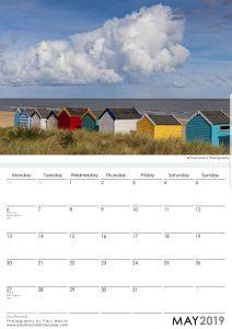 southwold surrounding area 2019 a3 calendar paul macro photography