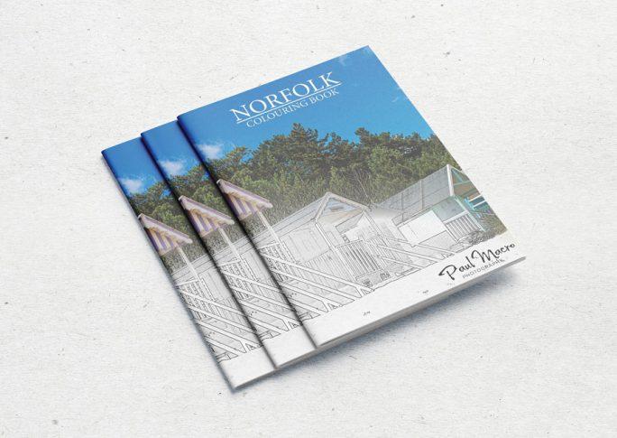 Norfolk Colouring Book