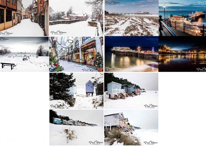 Norfolk Christmas/Winter Greetings Card Packs